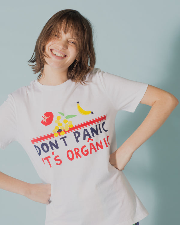 Dont Panic It's Organic T-shirt