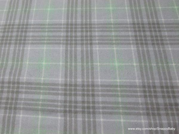 Flannel Fabric - Hayden Sweet Plaid - By the yard - 100% Cotton Flannel