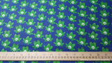 Flannel Fabric - Winking Frogs - By the yard - 100% Cotton Flannel