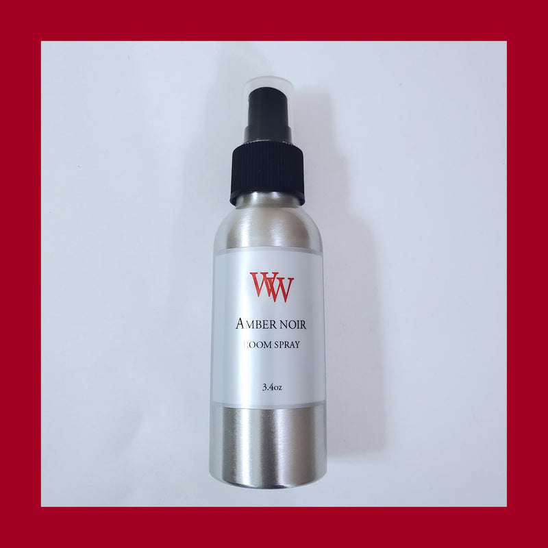 Amber Noir Room & Linen Spray 3.4oz - WaxEssence