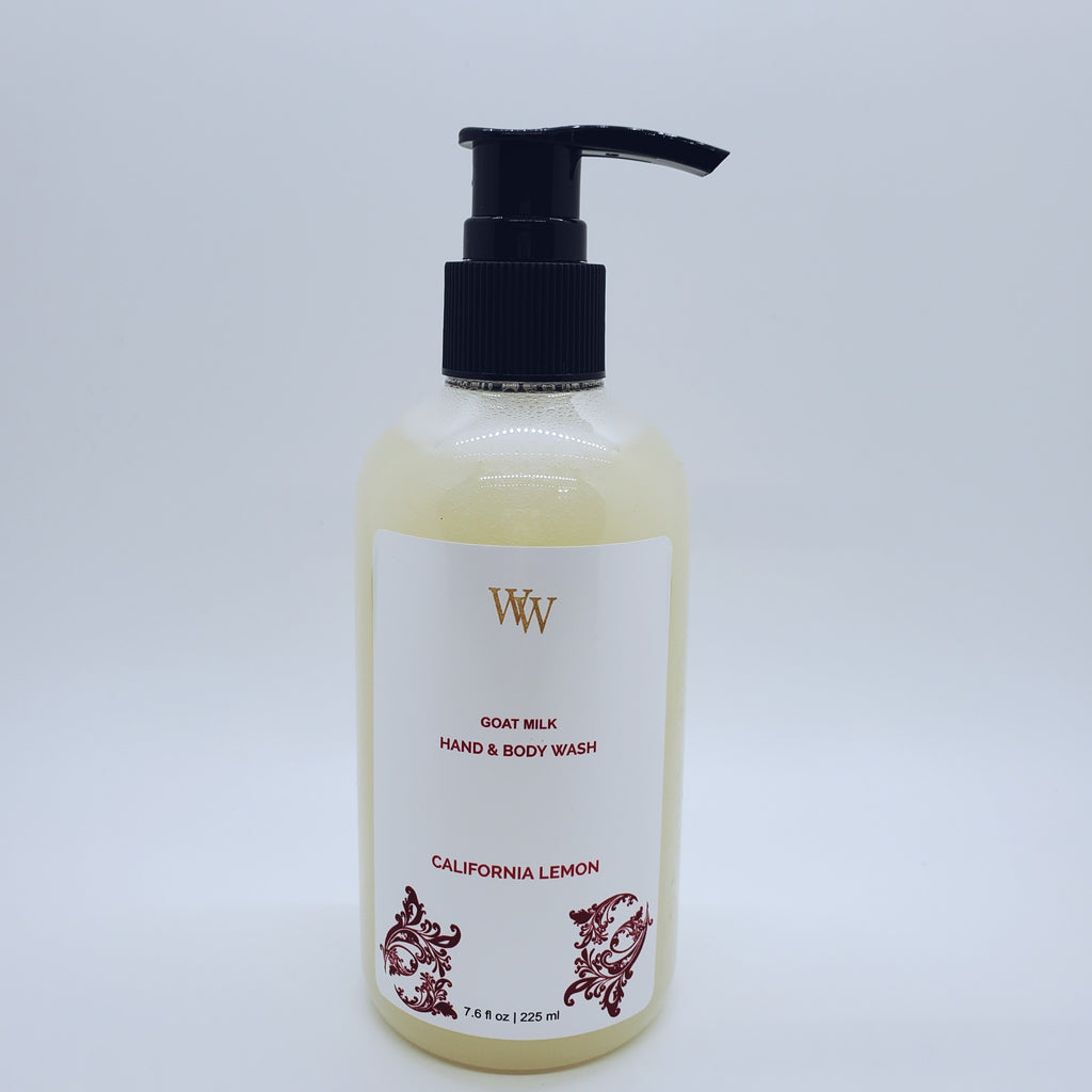 Goat Milk Hand & Body Wash | California Lemon | 7.6 fl oz