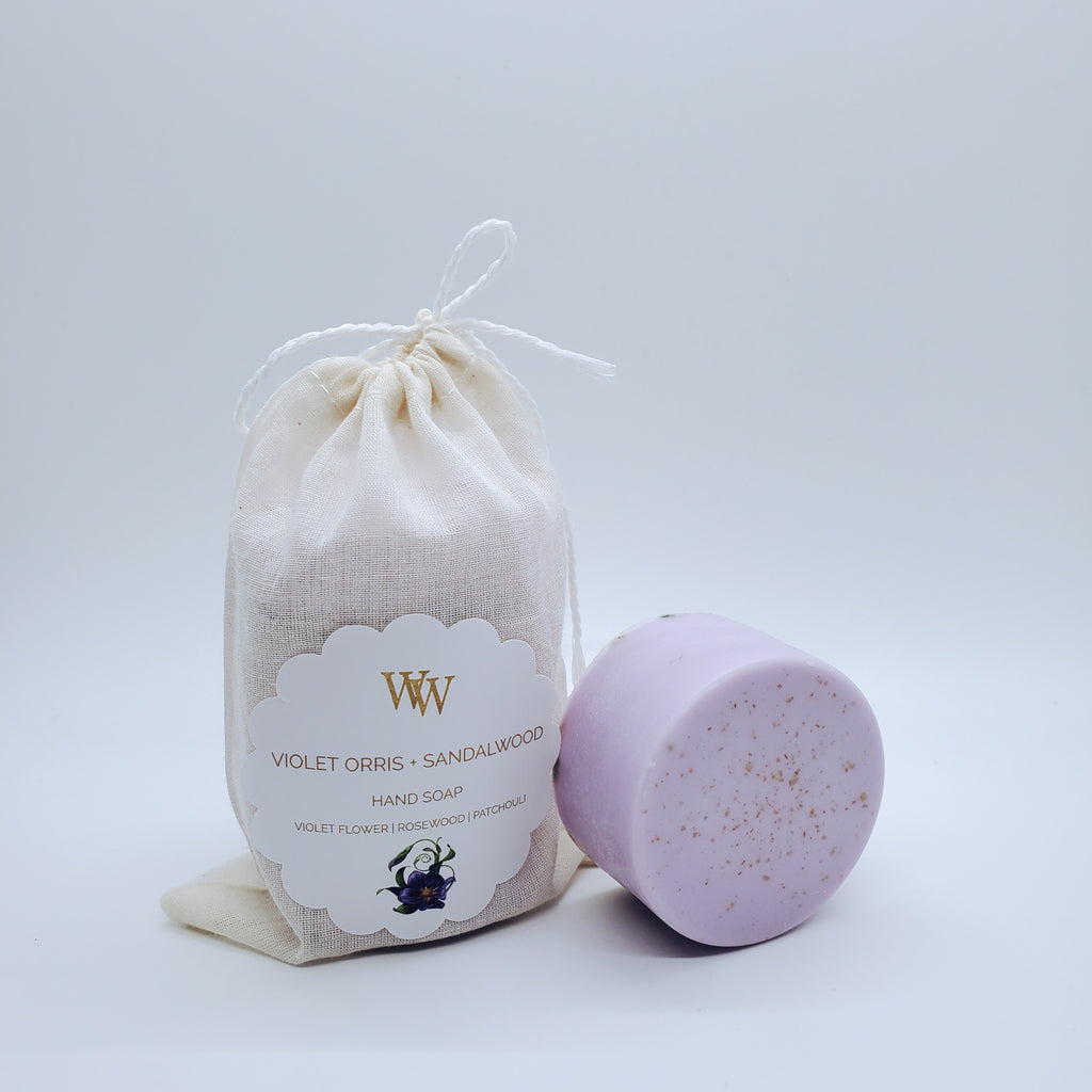 Violet Orris + Sandalwood Hand Soap | Coco Mango Butter | 3 Bars