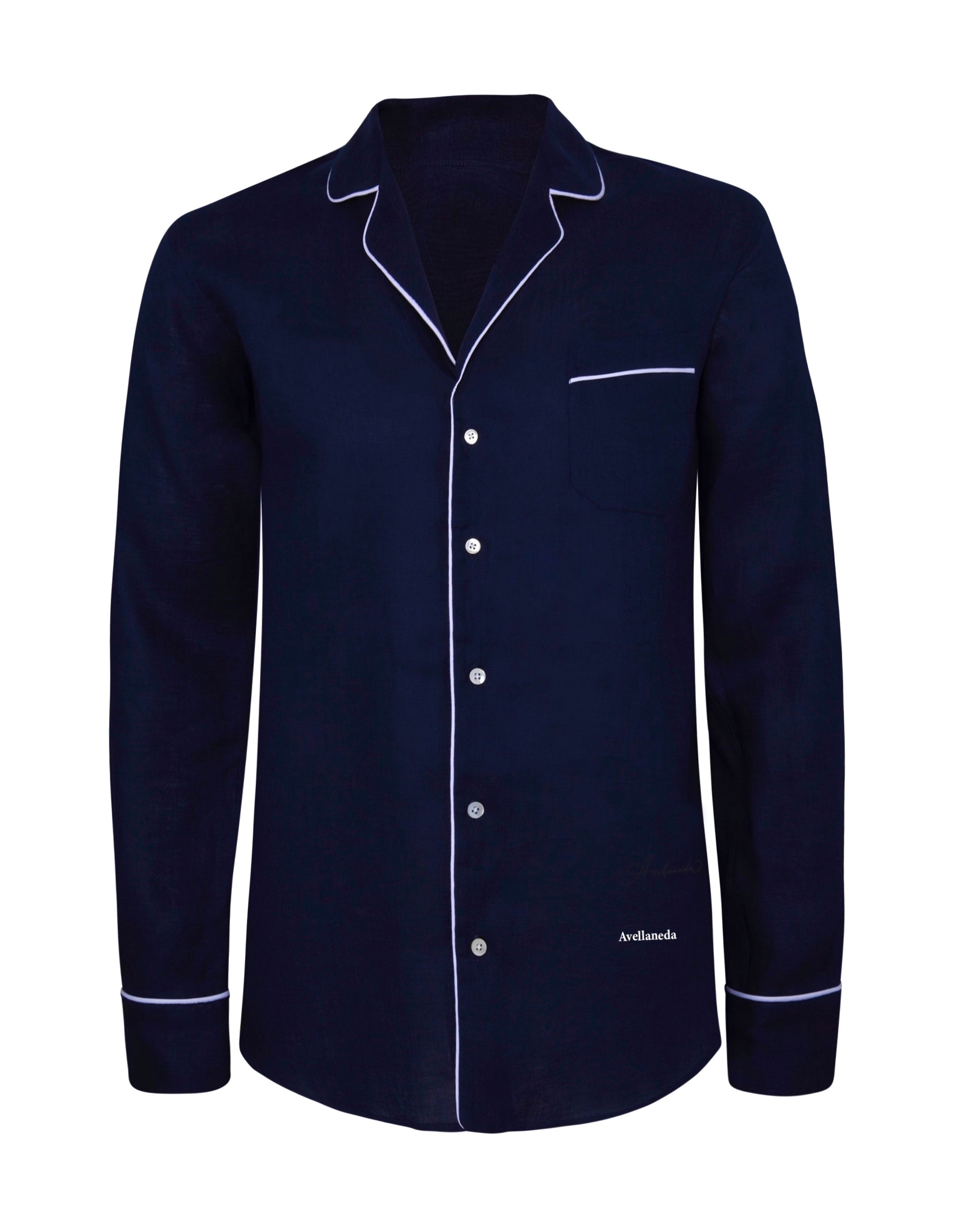 WOMEN'S PJ NAVY SHIRT