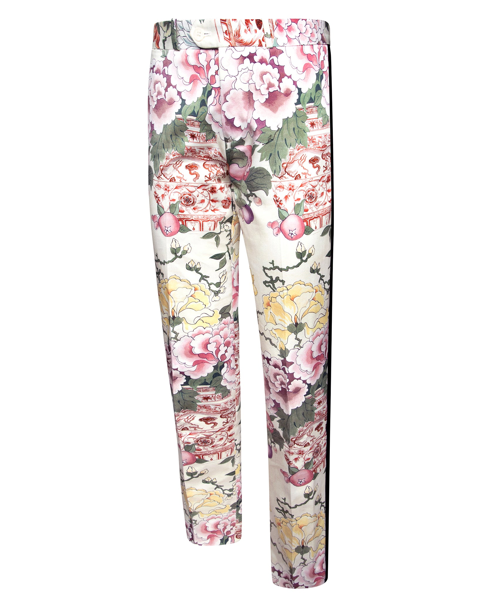 VICTOR FLORAL TUXEDO PANT