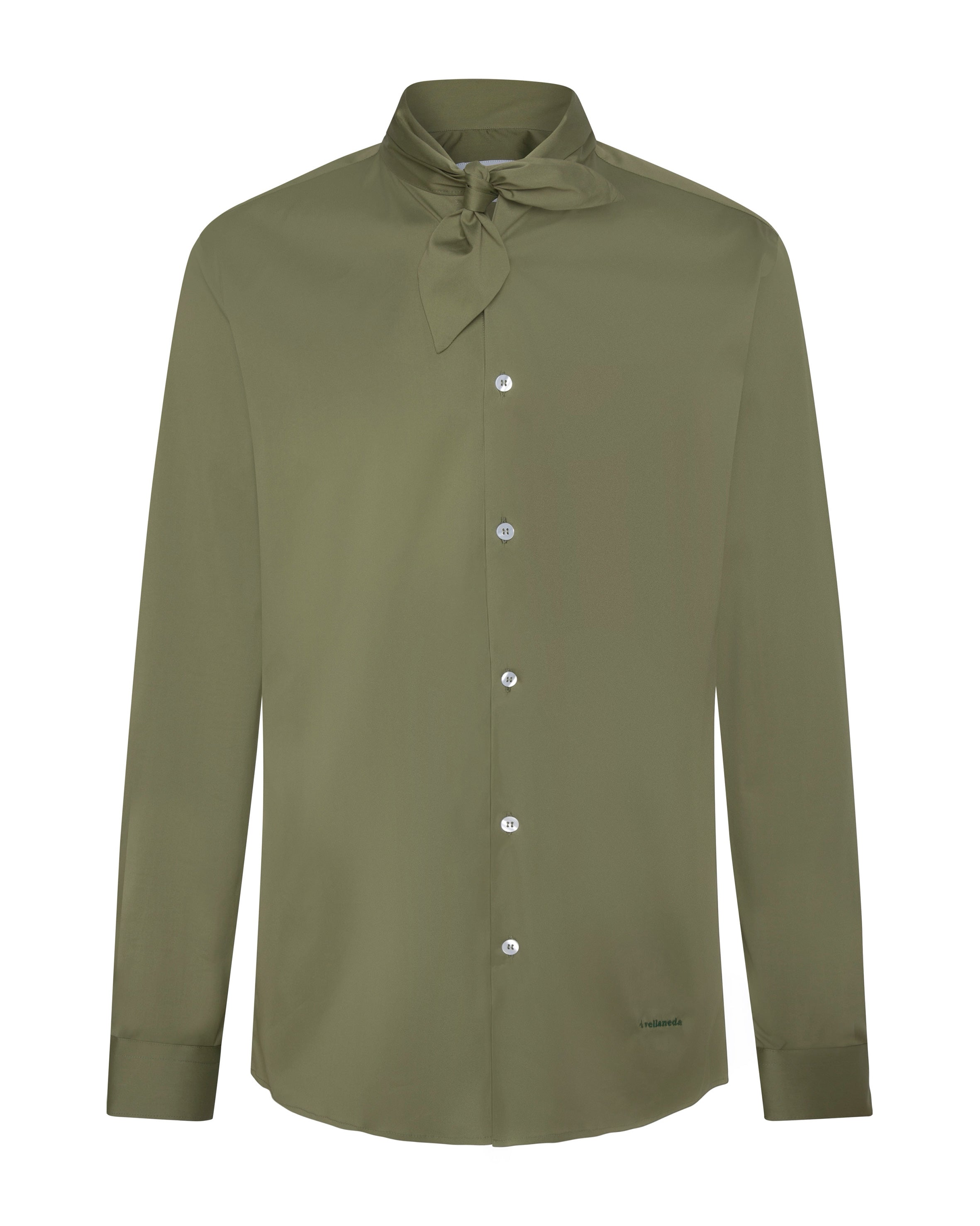 WOMEN'S GREEN DARCY SHIRT
