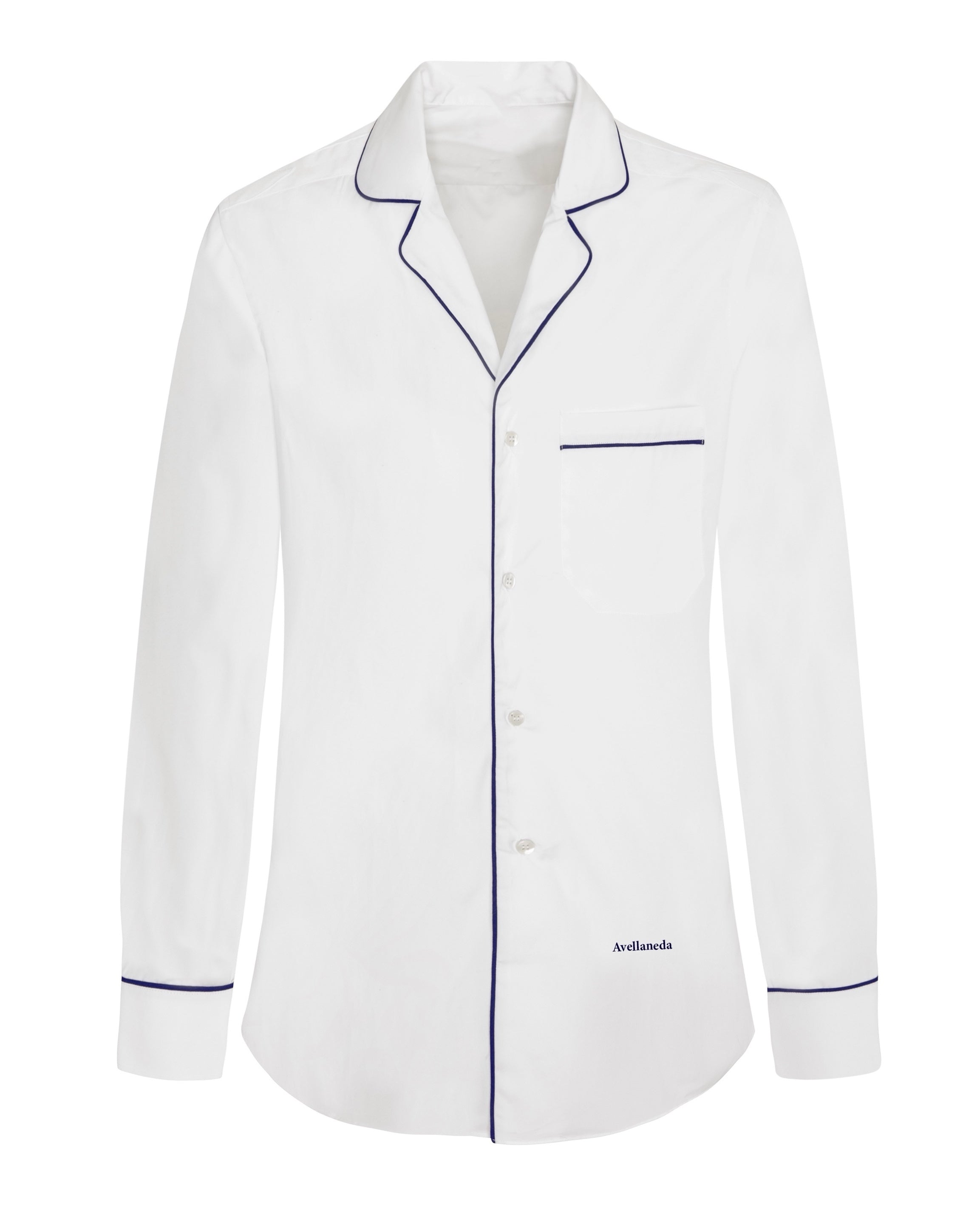 MEN'S PJ WHITE SHIRT