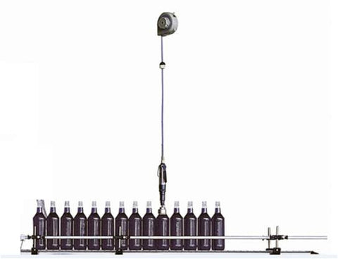 Hand-Held Bottle capper Model CS 1000, by Acasi Machinery, Inc.,Front view