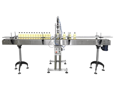 Semi-Automatic single cap tightener, model AS-CS16, Assy CS-AS16-V16, by Acasi Machinery Inc