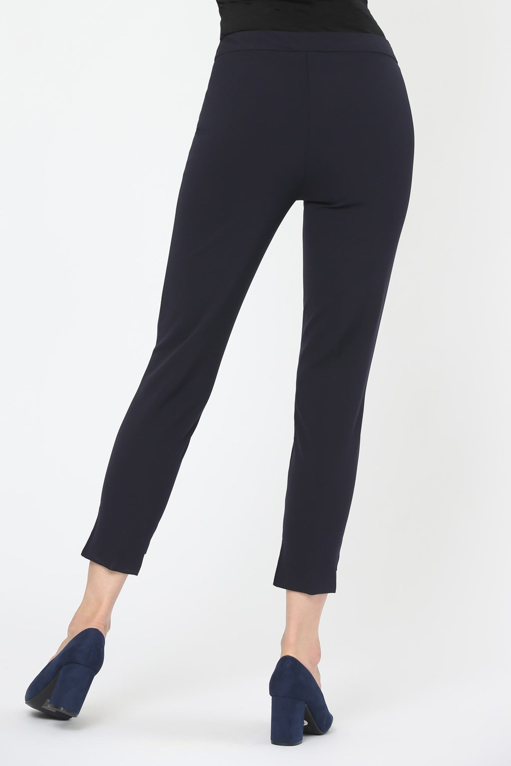 Cropped Pant with High-Low Cuff