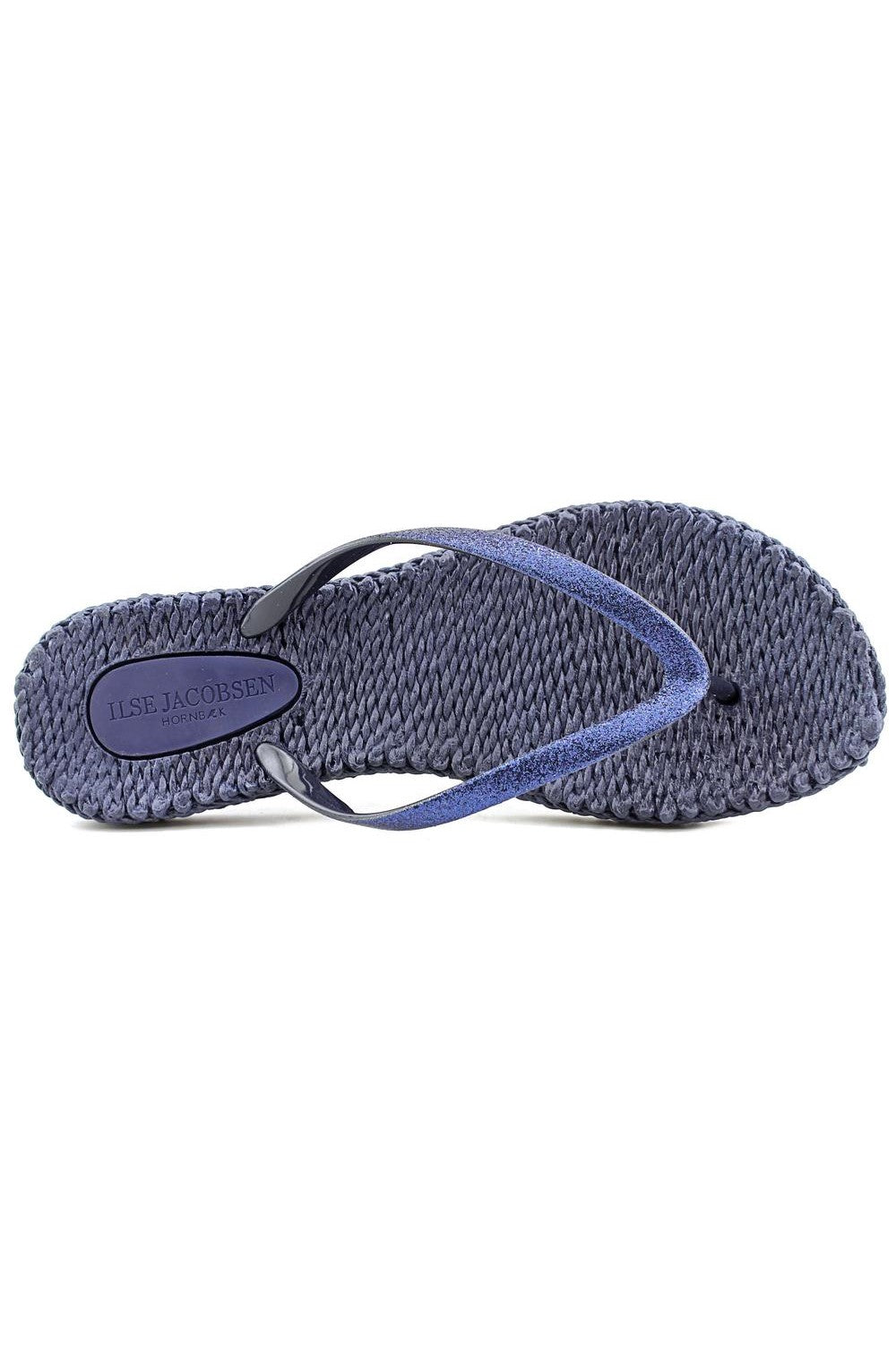 Cheerful Glitter Flip Flops
