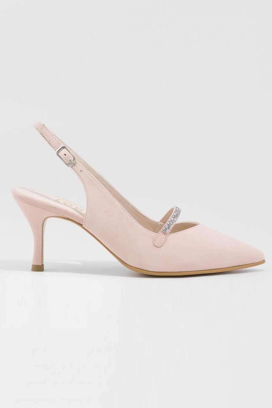 Suede Pointed Tow Eriste Pump