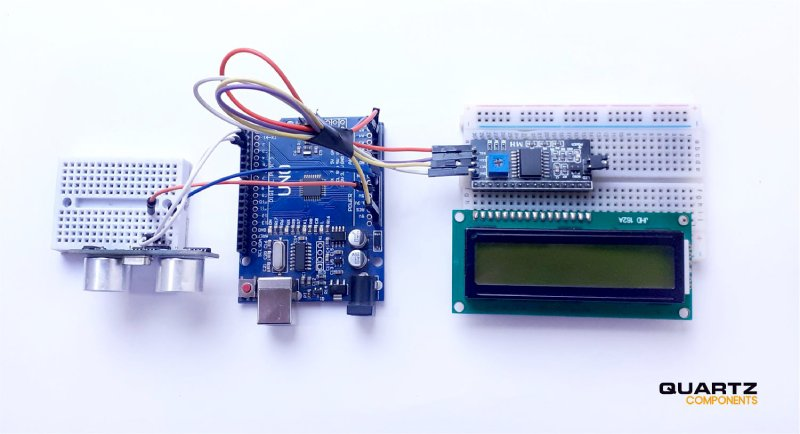 Distance Measurement using Ultrasonic Sensor and Arduino