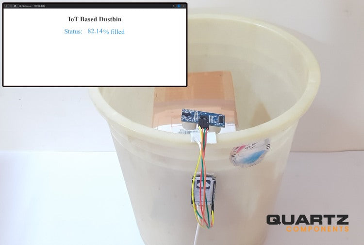 IoT Based Smart Dustbin using NodeMCU