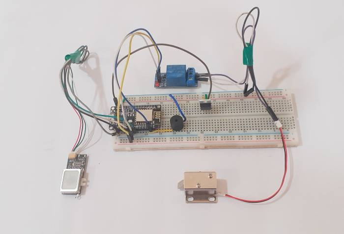 IoT Based Biometric Door Lock using Fingerprint Sensor and NodeMCU ESP8266