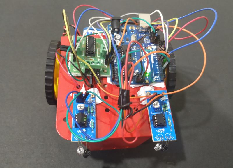 Line Follower Robot using Arduino Uno