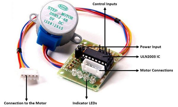 28BYJ-48 Stepper motor with ULN2003 Controller Board