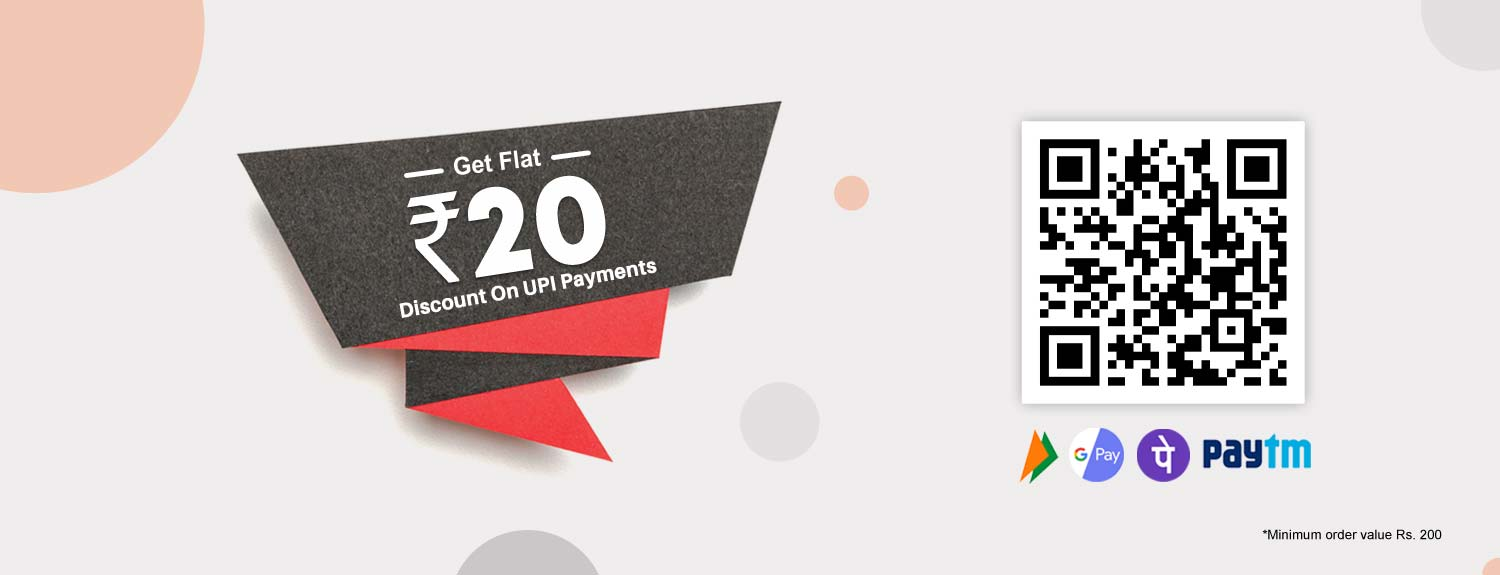 Flat Rs. 200 on UPI Payments on Quartzcomponents.com