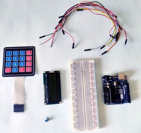 Required Components for Arduino Calculator Project