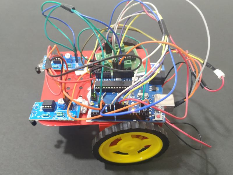 Arduino Line Follower Robot Project