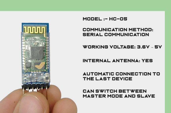 HC-05 Bluetooth Module Specifications