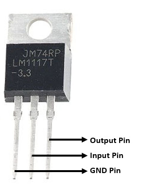 LM1117T-3.3 TO-220 IC