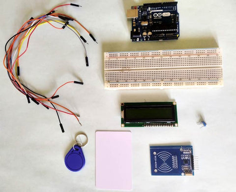 Arduino RFID attendance system required components