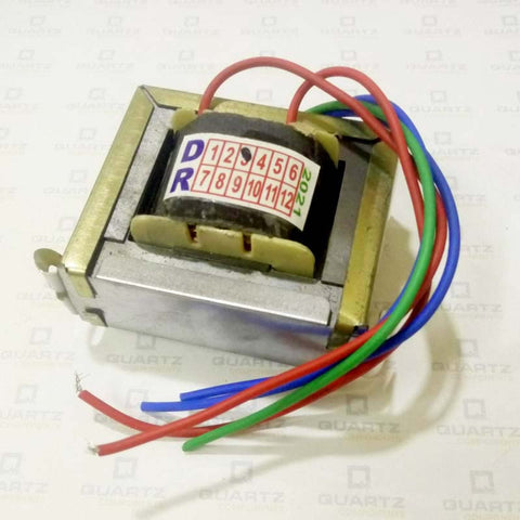 12-0-12 1A Center Tapped Step-down Transformer (12V/24V)