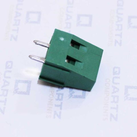 2 Pin PCB Mount Terminal Block (Screw type) - 5mm Pitch