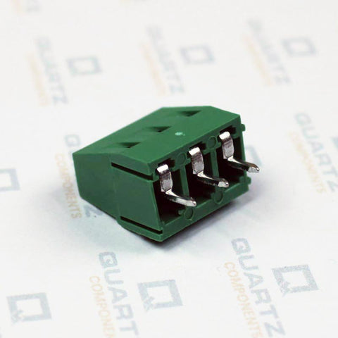 3 Pin PCB Mount Terminal Block (Screw type) - 5mm Pitch
