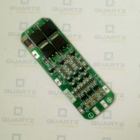 3S Li-ion Battery Protection Board - 20A PCB BMS