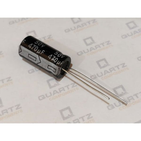 470uF 50V Electrolytic Capacitor