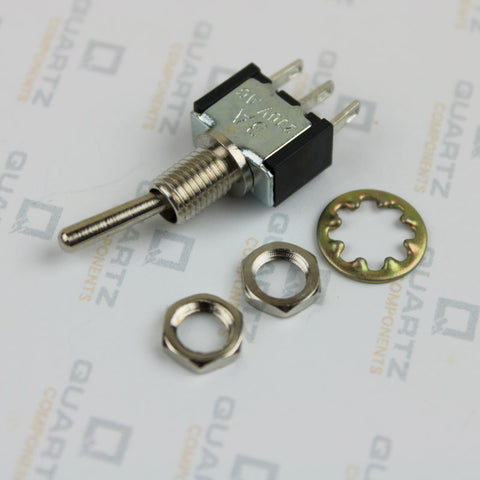 3 pin Toggle switch with hex bolt and washer