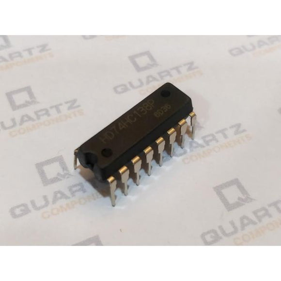 74HC138 IC - 3-to-8 line Decoder/Demultiplexer IC