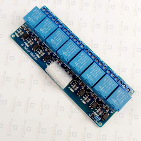 8 Channel 5V Relay Module with Optocoupler