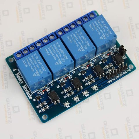 Four channel relay module