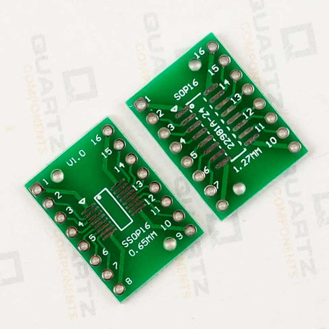 SOP16 DIP Adapter Converter PCB Board 0.651.27mm