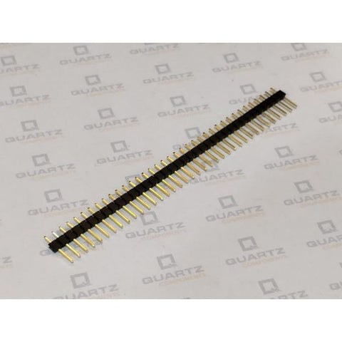 40 Pin Straight Male Header Pins - Berg Strips