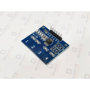 TTP224 4-Channel Touch Sensor Module