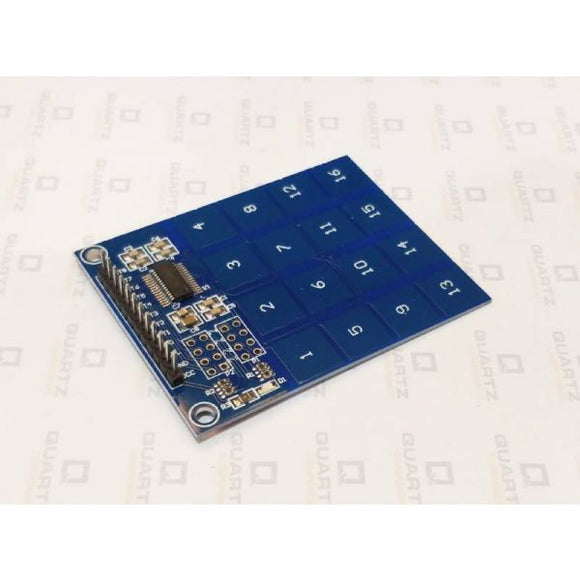 TTP229 16-Channel Capacitive Touch Sensor Module