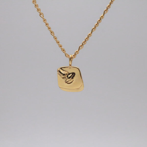 Amelia Face Necklace