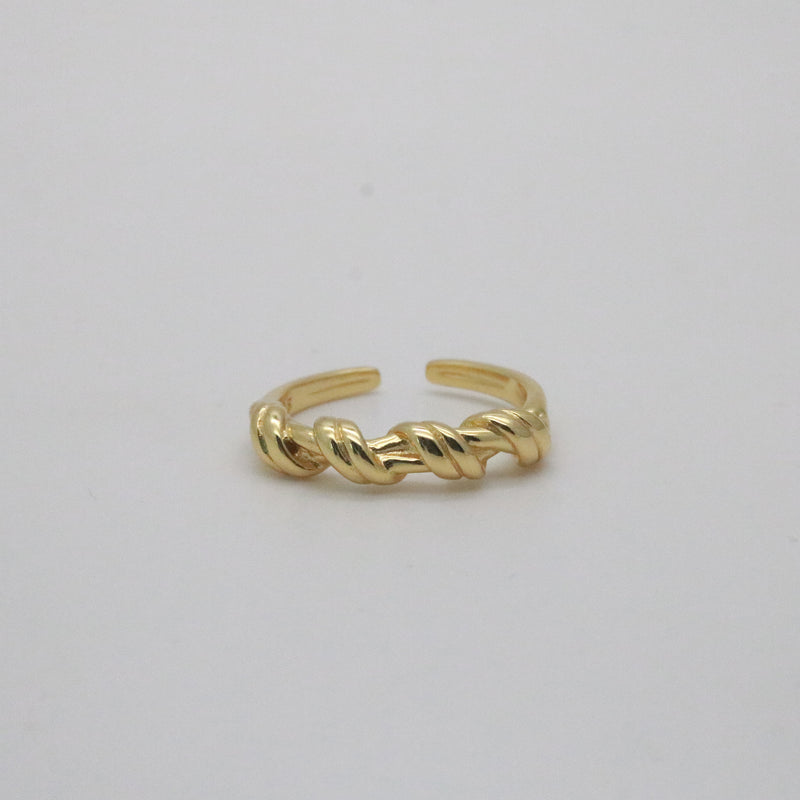 Anya Twisted Open Ring