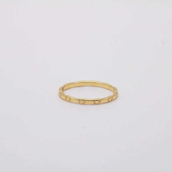 Meideya Jewelry - Sun loop ring