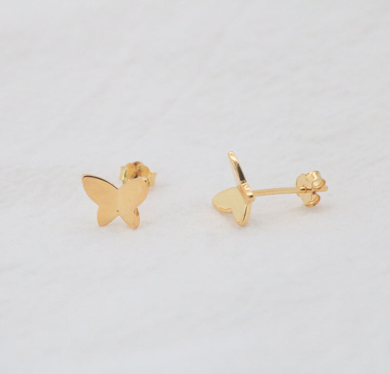 Butterfly Stud Earrings-Preorder