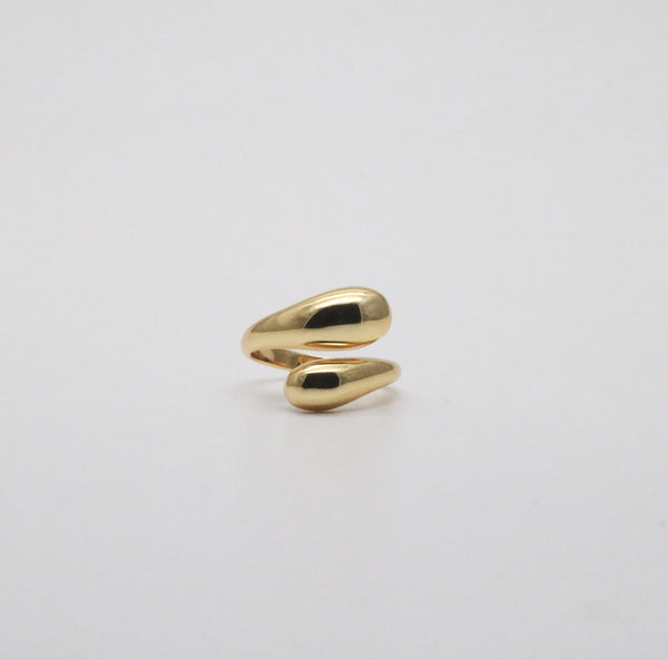 Meideya Jewelry - The Maggie ring in 18k gold vermeil