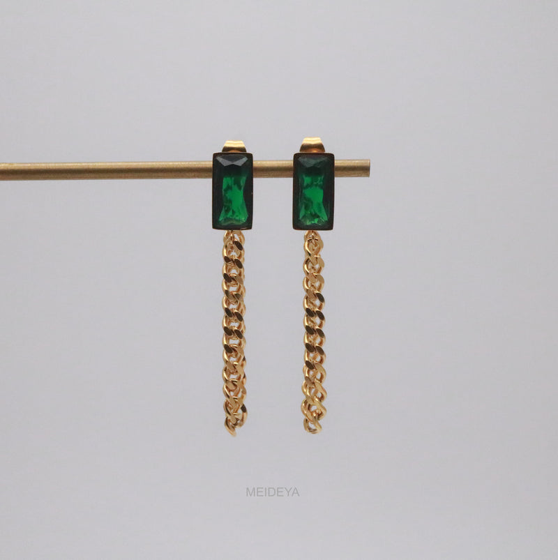 Verdell Chain Earrings