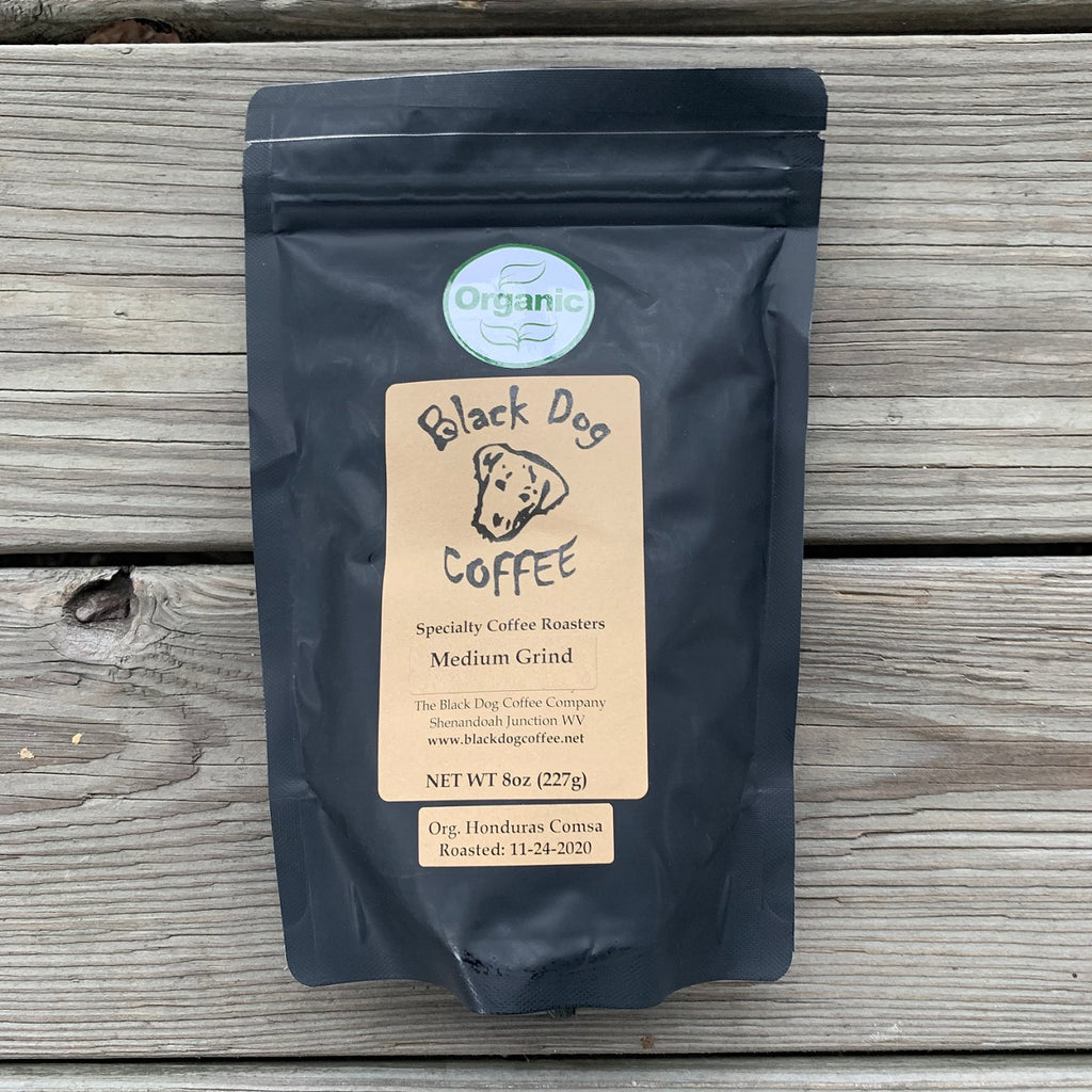 BLACK DOG ORGANIC COFFEE