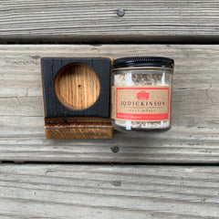 BOURBON BARREL SALT CELLAR