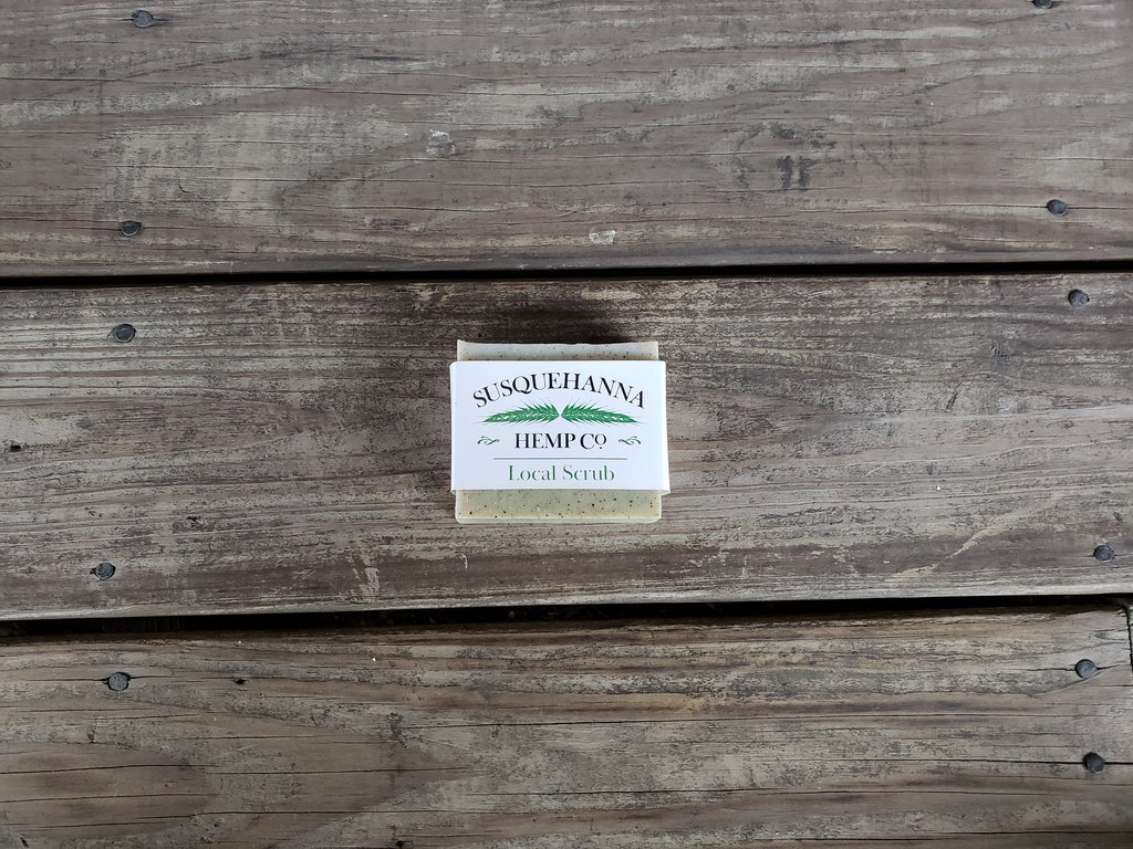 LOCAL SCRUB HEMP SOAP
