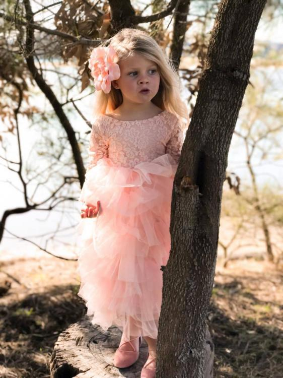 boho flower girl dress