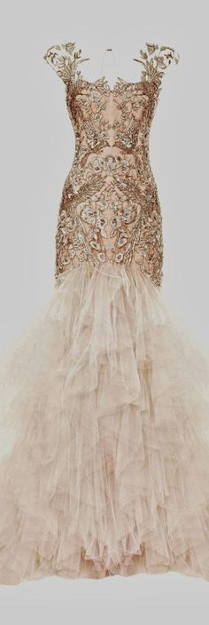 extremely gorgeous wedding gown